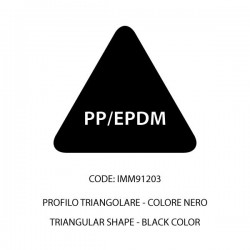 Confezione PP/EPDM barra nera