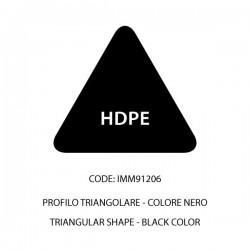 Confezione HDPE barra nera tri