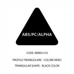 Confezione ABS/PC/ALPHA nera t