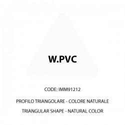 Confezione W.PVC naturale triangolare