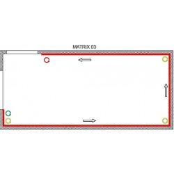Matrix Kit 3 - con 3 tensori angolari