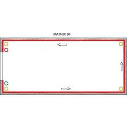 Matrix Kit 4 - con 4 tensori angolari